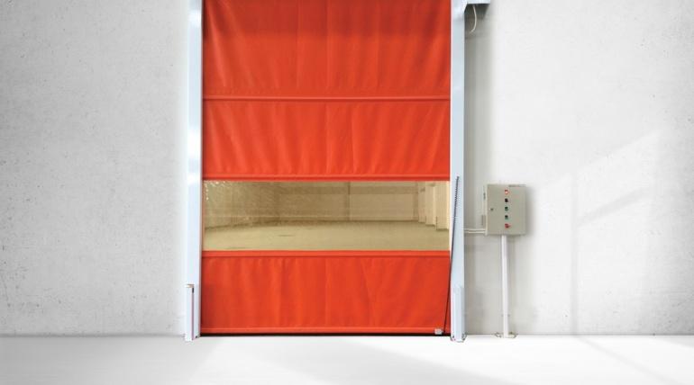 High Speed Door (ประตูอัตโนมัติแบบม้วนขึ้น)