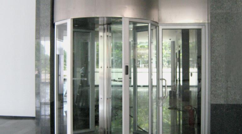 Automatic & Manual Revolving Door (ประตูหมุนอัตโนมัติ)